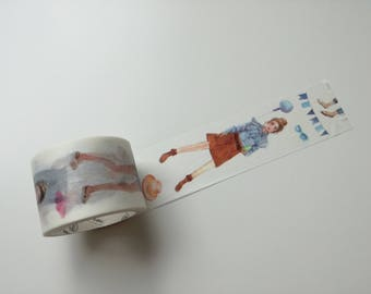 Summer Fashion Girls Washi Masking Tape