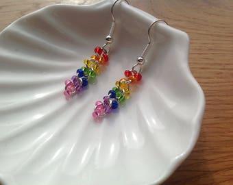 RAINBOW COLLECTION - dangle earrings