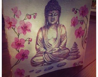 Handmade Buddha Card