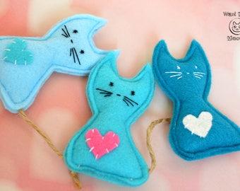 Cat toys, Catnip toy, Felt catnip toy, Organic catnip toy, Natural cat toy, Kawaii cat toy, Vegan cat toys, Eco friendly soft cat toy
