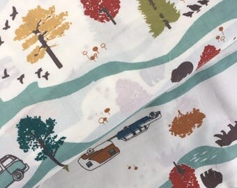 Sale Feather River from Birch Organic Fabrics, Feather River Cotton Poplin Collection