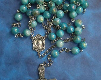 Seagreen Shell Rosary
