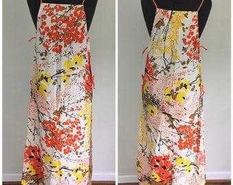 Vintage 1960s Vera Apron Smock - Vera Neumann Aprons Dress