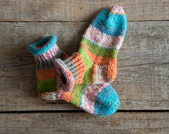 individual children's socks, 22/23