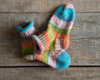 individual children's socks, 22/23