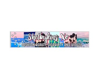 Custom Tumblr Youtube Channel Art