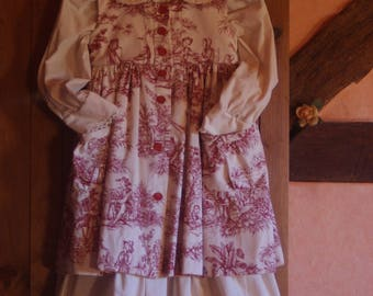 girl dress in one, two 8-10 years