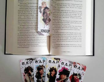 B.A.P Young, Wild and Free Splatter Edit Bookmarks