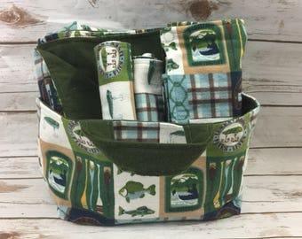 Fishing Baby Shower Gift Basket - Newborn Boy Gifts - Baby Boy Fishing