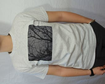 T shirt men's sleeve short trees photo