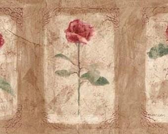 Floral Wallpaper Border ED76255