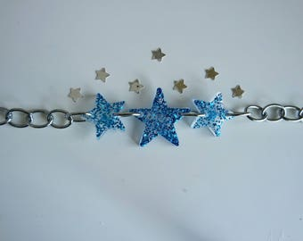Starry Eyed Chain Necklace