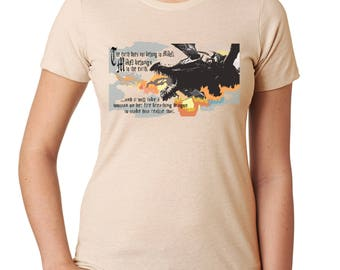 Dragons Save the World - Women's Tshirt