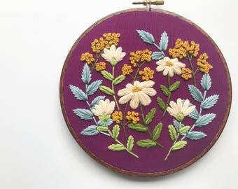 Embroidery Kit Custom Embroidery Pattern Embroidery Design Embroidery Hoop Modern Embroidery Beginner Embroidery Hoffelt and Hooper