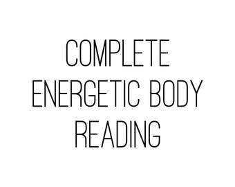 Complete Energetic Body Reading Chakras Auras Guidance