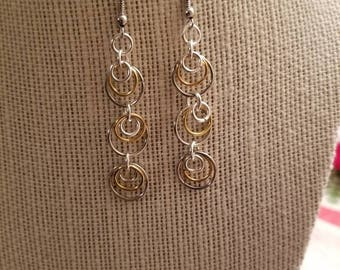 Beautiful dangled earrings