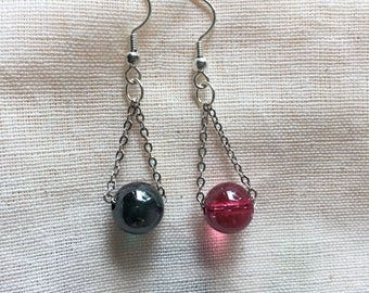 Daily wear earrings with color beads