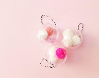 Pom Pom Bauble | Yarn Bauble | Hanging Decoration | Pom Pom Decoration | Pom Pom Decor | Custom