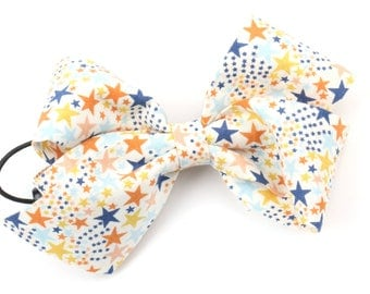 Hair Bow, Hair Ribbon for Kids, Hair Accessories, Hair Elastic, Hair Pins Fabric Ribbon Bows