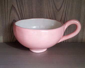 Cereal Bowl ceramic bowl ceramic coffee ceramic gravy boat, gift MOM, mother's day gift / / large cereal Bowl