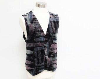 Men's Waistcoat, Vintage, Menswear, Vintage Menswear, Vest, Waistcoat, Velveteen Waistcoat, Mens Clothing, Gift For Men, Mens Velvet Vest