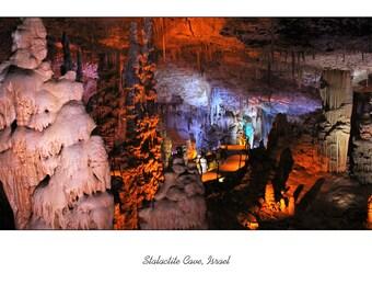 Stalactite Cave, Israel Blank Card