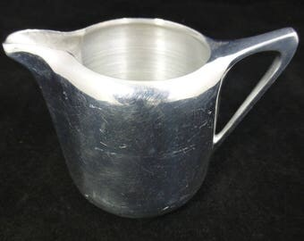 Picquot Ware Picquot Ware Milk Jug / Creamer – Stylish Vintage Mid Century Magnallium Alloy – Made in England