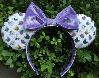 Frenchie Flowers Mouse Ears