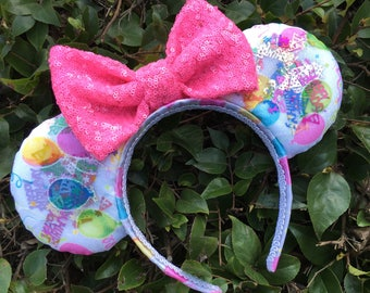 Birthday Confetti Mouse Ears