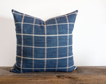 Clara Grid Pillow Cover ONLY