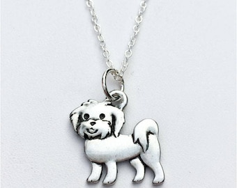 Maltese Charm Necklace