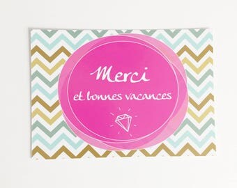 "Carte ""Merci"""