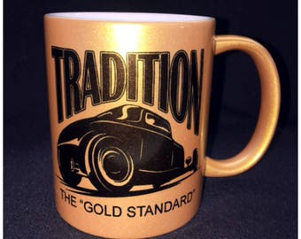 Hot Rod, Custom Car Coffee Mug, Street Rod, Roadster, Salt Flat, Land Speed, El Mirage