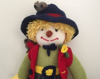 "Knitted ""Sam"" Doll - 100% Australian Wool"