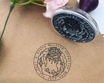 ROUND STAMP, custom stamp, logo stamp, custom rubber stamp  - stamp, brand stamp, logo design, stationery