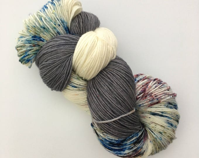 19.5 micron Merino Wool dyed by hand Fingering