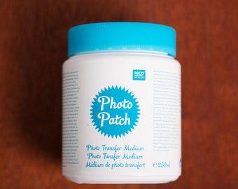 Photo patch - photo transfer medium, Rico design