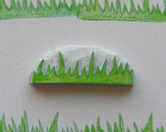 Grass rubber stamp, Grass stamp, Grass border stamp, stamp grass, field rubber stamp, journal stamp, grass borders, rubber stamp, grass diy
