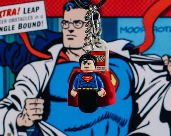 Superman Lego keychain USB stick (SanDisk)