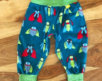 Baby Trousers, Beetle Trousers, Organic