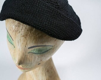 Vintage Hat / 1940s Hat / vintage 1940s hat / 40s hat/