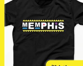 Damn Gina T-Shirt - Memphis 90s For The Culture Tees
