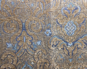 Brown Chenille Upholstery Fabric, Sewing, Home Decor