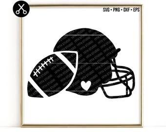 Football svg - football helmet - Super Bowl svg dxf eps png cut file - silhouette  - cricut - cutting machine