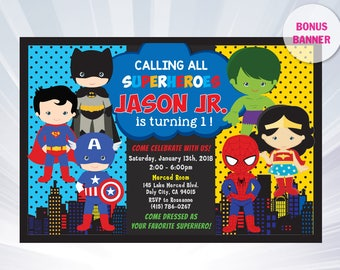 Super Hero Invitation Superhero Invitation Templates - Birthday invitation template superhero