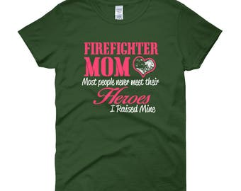 Firefigher mom Women's short sleeve t-shirt