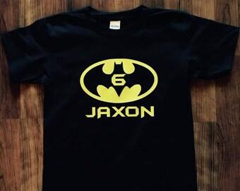 BATMAN || Birthday Shirt