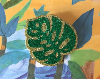 "Brooch ""Monstera Leaf"""