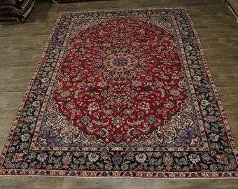 Beautiful Traditional S Antique Najafabad Persian Rug Oriental Area Carpet 9X13