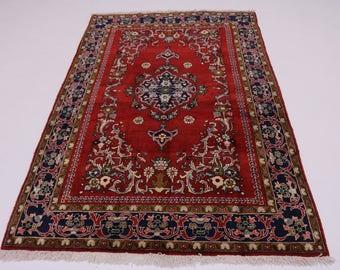 Delightful Design S Antique Sarough Sarouk Persian Rug Oriental Area Carpet 5X7
